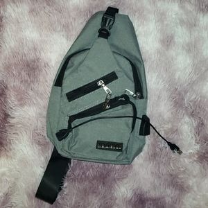 Small Backpack with Accesory for Charging Cable